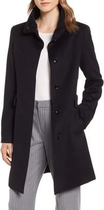 Max Mara Agnese High Collar Wool Coat