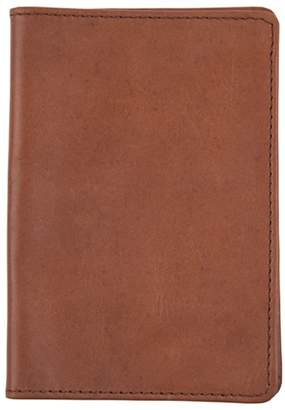 MAHI Leather - Classic Leather Passport Cover in Vintage Brown