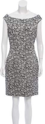 Christian Dior Textured Sheath Dress