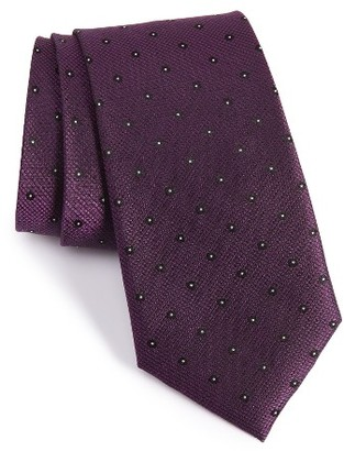 Men's Calibrate Handmade Dot Silk Tie $49.50 thestylecure.com
