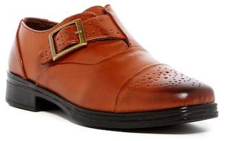 Deer Stags Semi Monk Strap Shoe (Little Kid & Big Kid)