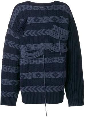 Calvin Klein oversized crew-neck jumper
