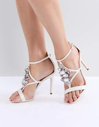 9606f4aaa2bb ... Ted Baker Liosa Embellished T-Bar Heeled Sandals