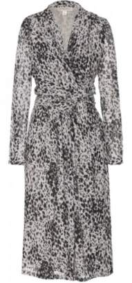 Burberry Salma Silk Wrap Dress