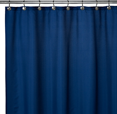 Bed Bath & Beyond Hotel 70-Inch x 72-Inch Shower Curtain Liner in Navy