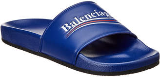 Balenciaga Leather Slide