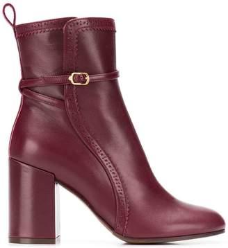 L'Autre Chose buckle detail ankle boots