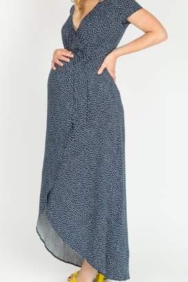 Nom Maternity Delilah Wrap Dress