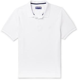Vilebrequin Cotton-Pique Polo Shirt - Men - White