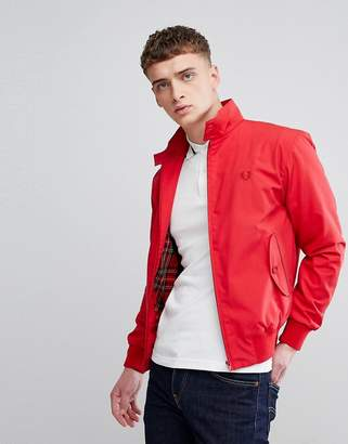 Fred Perry REISSUES Made in England Harrington Jacket in Red
