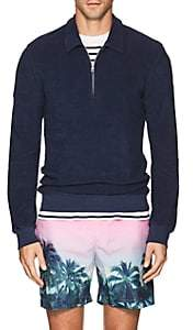 Orlebar Brown Men's Ritson Cotton French Terry Pullover - Navy