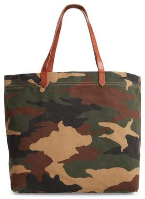 Madewell The Canvas Transport Tote in Cottontail Camo