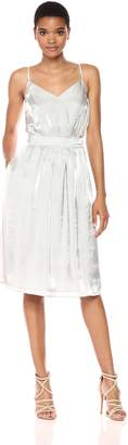GUESS Women's Sleeveless Luce Chrome Dress
