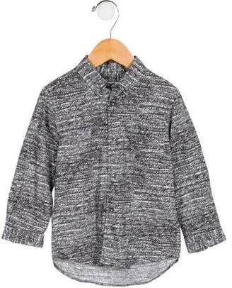 Cacharel Boys' Printed Button-Up Shirt