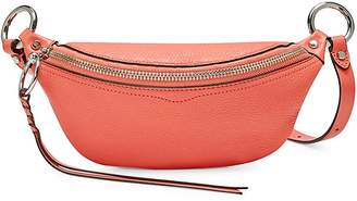 Rebecca Minkoff Bree Textured Leather Mini Belt Bag