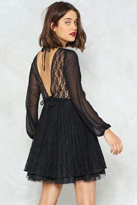 Nasty Gal Eternal Flame Lace Dress