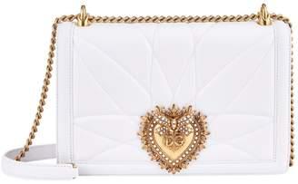 Dolce & Gabbana Large Quilted Leather Devotion Shoulder Bag