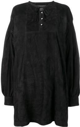Diesel Black Gold lambskin dress