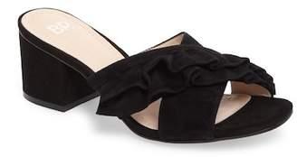 BP Shari Ruffle Strap Slide Sandal