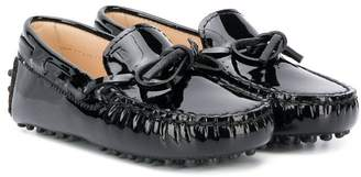 Tod's Kids patent loafers