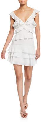 Bardot Babylon Tiered Ruffle Mini Dress