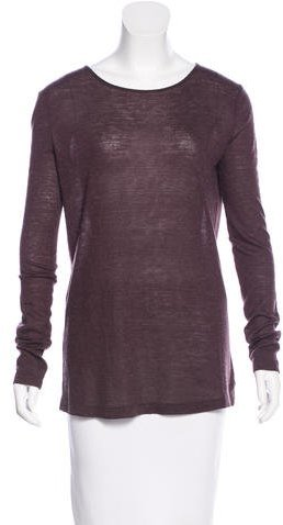 Alexander Wang T by Alexander Wang Cutout-Accented Long Sleeve T-shirt