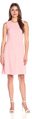 Tommy Hilfiger Women's Crepe Sleeveless Dress $129 thestylecure.com