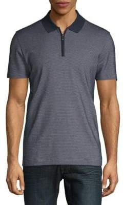 HUGO BOSS Polston Textured Cotton Polo