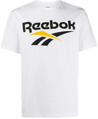 Reebok logo print T-shirt