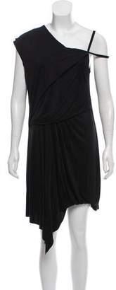 Helmut Lang Sleeveless Asymmetric Dress