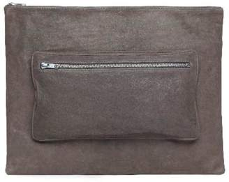 One Fated Knight Grey Oversized Pouch