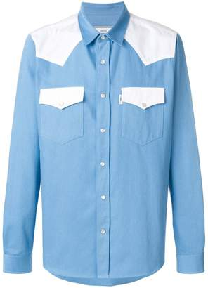 Ami Alexandre Mattiussi press button AMI fit shirt