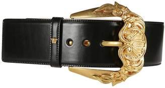 Versace Barocco Buckle Waist Belt
