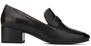 Gentle Souls by Kenneth Cole Women's Eliott Menswear Inspired Dress Loafer with Block Heel Shoe