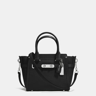 COACH Coach Swagger 21 In Pebble Leather $350 thestylecure.com