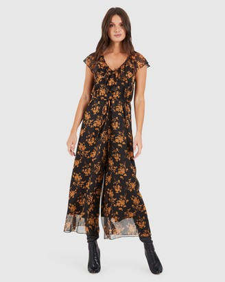 Cooper St Fortune Flared Sleeve Jumpsuit