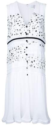 Carven dots print buttoned dress