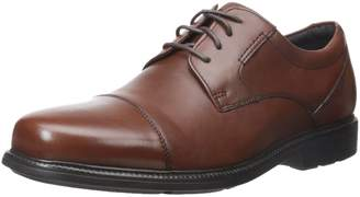 Rockport Men's Charles Road Cap Toe Oxford Leather 8 M (D)-8 M