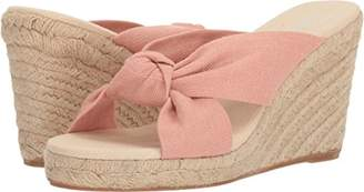 Soludos Women's Knotted (90mm) Espadrille Wedge Sandal
