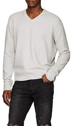 ATM Anthony Thomas Melillo Men's Brushed Wool-Blend Sweater - Gray
