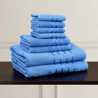 Co The Twillery 100% Egyptian-Quality Cotton Plush 8 Piece Towel Set