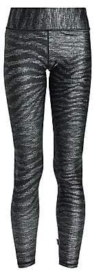 Terez Women's Show Your Stripes Tall Band Leggings