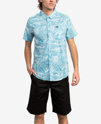 RVCA Men's Slim-Fit Michelle Blade Shirt