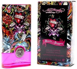 Christian Audigier Hardy Hearts and Daggers for Women Eau De Parfum Spray 1.7-Ounce