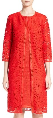 Women's St. John Collection Embroidered Lace Topper $1,595 thestylecure.com