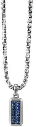 David Yurman Streamline Amulet with Sapphires