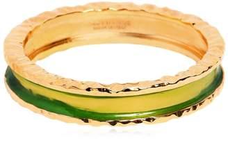 DSQUARED2 Gold Plated Cuff Bracelet