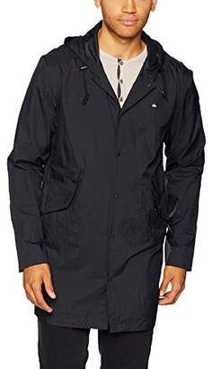 Quiksilver Men's QPAK Long Packable Coach Jacket