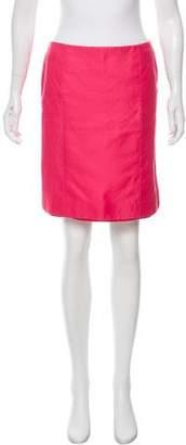 Celine Pencil Mini Skirt