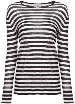 Jason Wu striped fitted sweater